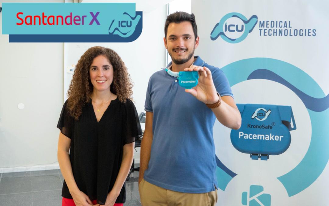 Santander Bank supports KronoSafe® at the Santander X Spain Award